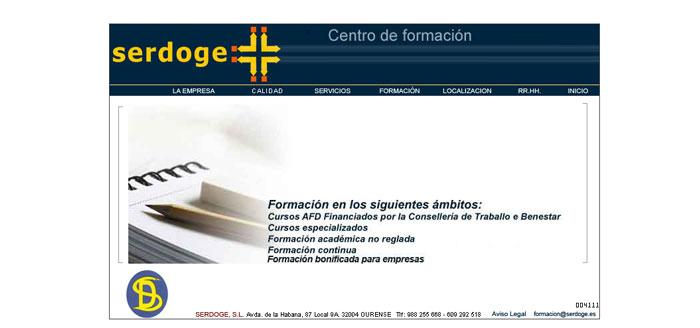 Serdoge – Centros de Formación