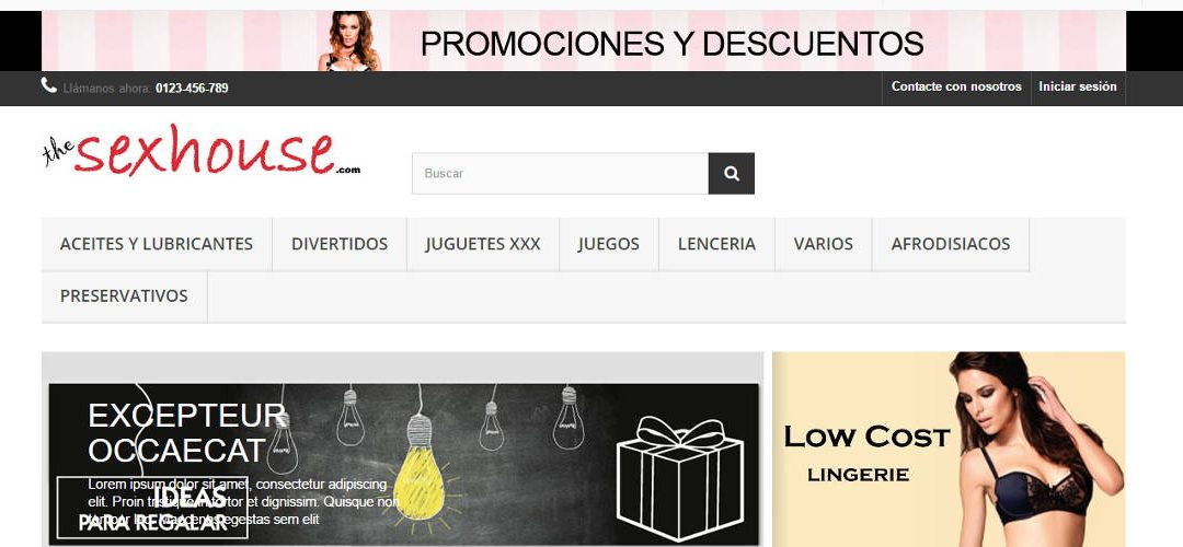 The Sex House – Tienda online